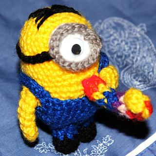Free Small Minion Crochet Pattern : Ravelry: Amigurumi Minion crochet pattern pattern by Anto Gal