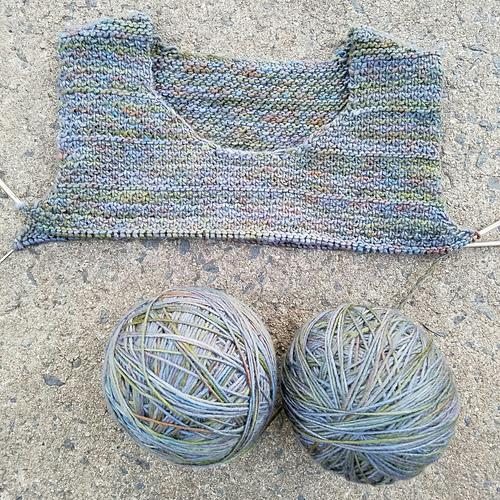 Luwan Clue 1: knitterings