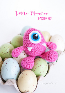 Ravelry: Monster Easter Egg Amigurumi with Open Mouth ...
