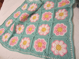 Ravelry African Flower With 8 Petals Pattern By Laura Pavy