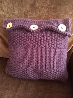 Ravelry: Beginner Cushion cover pattern by Andrea Scott