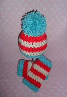 Ravelry Dr Seuss Inspired Hat And Leg Warmers Pattern By