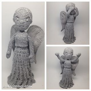 Amigurumi Weeping Angel Pattern : Ravelry: Weeping Angel Doctor Who Amigurumi pattern by ...
