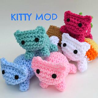 Ravelry Amigurumi Cat : Ravelry: Kitty Mod Cat Amigurumi pattern by Ami Amour