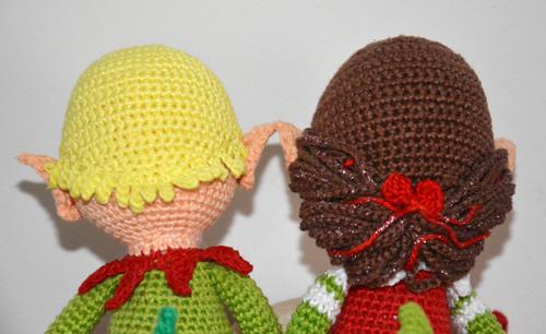 Ravelry: Christmas Elves pattern by Vanja Grundmann