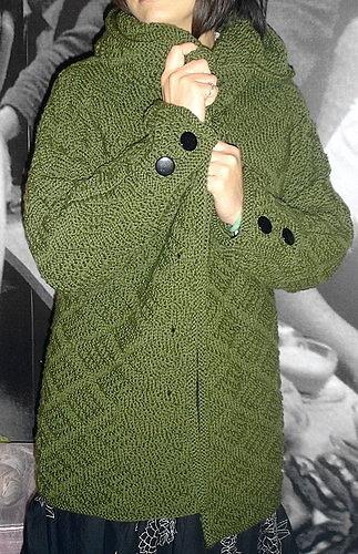Ravelry: #27 Jacket With Separate Cowl Collar pattern by Deborah Newton
