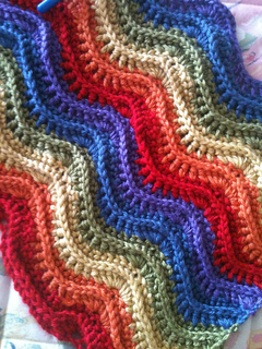 Ravelry Feather And Fan Blanket 169 Crochet Pattern By