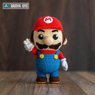 Amigurumi Mario Y Luigi : Ravelry: Mario pattern by Olka Novytska