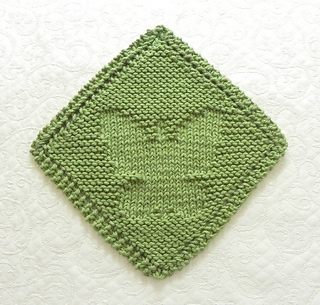 Ravelry butterfly knit dishcloth grandma s favorite pattern by aunt