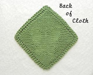 Ravelry: Butterfly Knit Dishcloth Grandma's Favorite ...