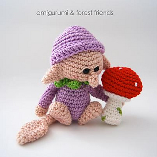 Amigurumi Monsters Tessa Van Riet : Ravelry: Amigurumi and forest friends - patterns