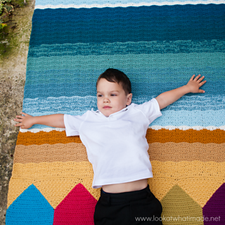 Summer_in_swanage_crochet_waves_blanket_with_beach_huts_small2