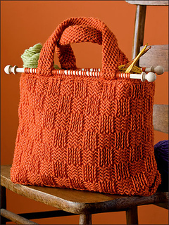 Ravelry Basket Weave Yarn Bag Pattern By Bendy Carter