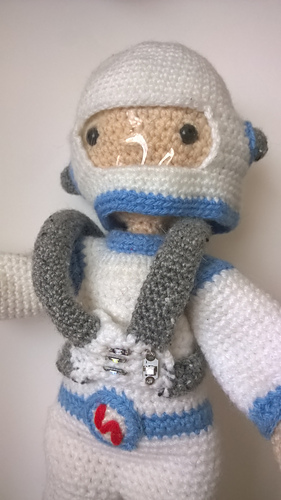 Ravelry Astronaut Outfit My Little Crochet Doll Pattern