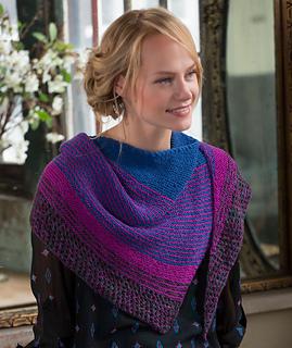 Ravelry: Modern Stripe Shawl pattern by Julie Farmer
