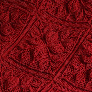 Ravelry Embossed Leaves Blanket Pattern By Bonita Patterns
