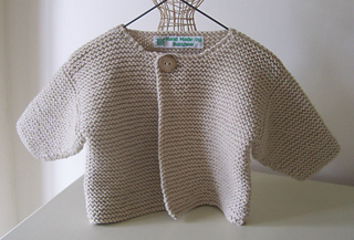 Ravelry: Simple Baby Cardigan pattern by Patricia Evans