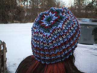 Knitting Pattern In The Round : Ravelry: Brioche in the Round Knitted Winter Hat pattern by C.B. Pelton