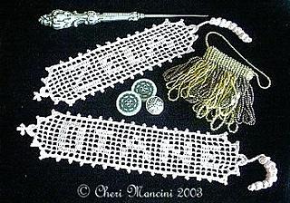Ravelry: Name Bookmark in Filet Crochet pattern by Cheri ...