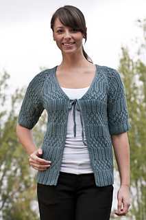 Fiona Ellis Knitting Patterns : Ravelry: Lace and Rib Top pattern by Fiona Ellis