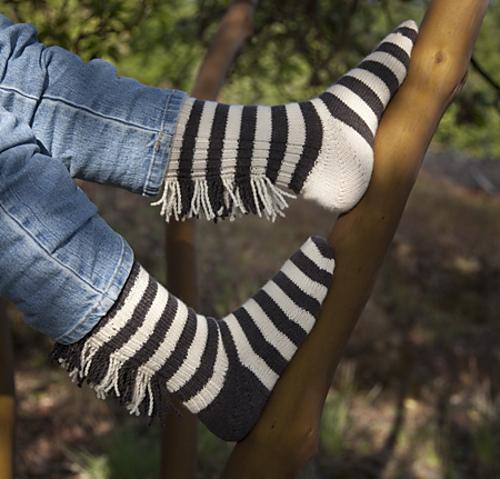 Cat\'s Zebra socks PDF