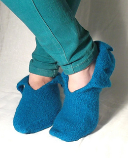 Ravelry: Pixie Felt Slipper pattern by Claire Fairall Designs