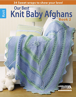 Leisure Arts Knitting Pattern Books : Ravelry: Leisure Arts #5124, Our Best Knit Baby Afghans: Book 2 - patterns