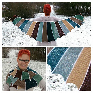 Ravelry: Sea Dragon Shawl pattern by Ambah OBrien
