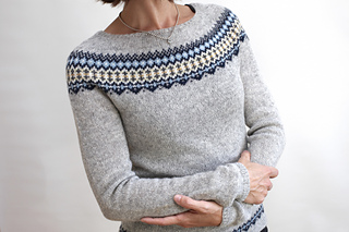 ravelry ingrid pullover pattern by isabell kraemer