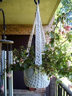 Ravelry Hanging Plant Sling Pattern By Priscilla Hewitt