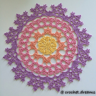 Ravelry: Wisteria Doily LC4646 pattern by Kathryn White