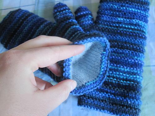 Double Lined Mittens Pdf At Fiberwild Knitting Yarns Needles