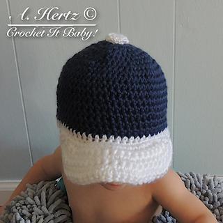 Ravelry: Crochet Baseball Cap Pattern - 4 Sizes pattern by ...