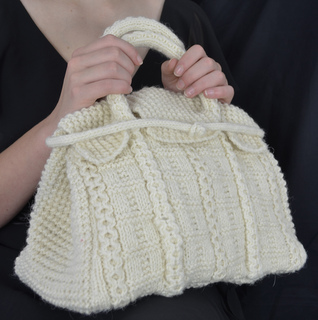 Ravelry: The Betty Bag - Haute Couture Knitting Patterns pattern by The Cucko...