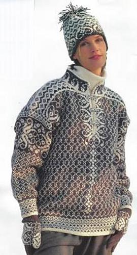 7902 Adult Sweater Pdf At Fiberwild Knitting Yarns Needles