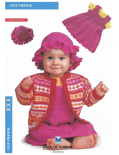 1020 Fresia Cardigan PDF