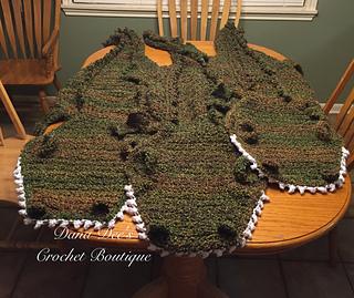 Free Crochet Pattern For Alligator Blanket : Ravelry: Thick and Fluffy Alligator Blanket pattern by ...