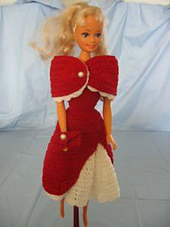 Ravelry 1950 Style Dress With Stole Pattern By Donna
