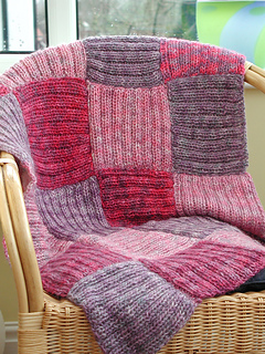 Free Knitting Pattern For Patchwork Quilt : Ravelry: Patchwork Afghan pattern by Debbie Tomkies