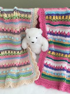 Ravelry: Confetti Baby Blanket pattern by Deborah OLeary
