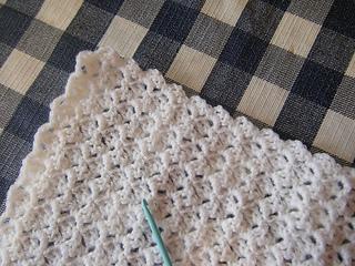 Ravelry Deniseiniowa S Crochet Baby Blanket Prayer Shawl