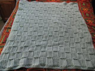 Ravelry Basketweave Twists Blanket Pattern By Bernat