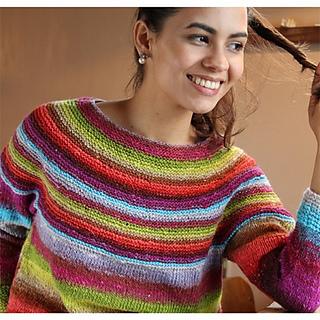 Knitting Pattern For Noro Wool : Ravelry: Noro Kirara Sweater pattern by Noro Kirara