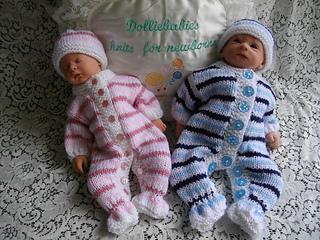 Knitting Pattern Baby All In One Suit : Ravelry: 28. Unisex Babygrow/Romper/Onesie pattern by Lynne Christie