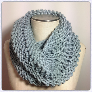 Knitted Drop Stitch Cowl Pattern : Ravelry: Twisted Drop Stitch Cowl pattern by Dookie Knits