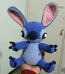 Amigurumi Loop Stitch : Ravelry: Amigurumi Stitch! from Lilo and Stitch pattern by ...