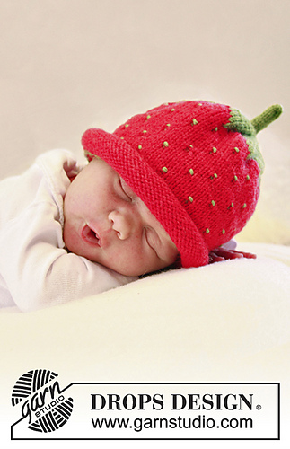 Ravelry: B21-21 Sweet Strawberry pattern by DROPS design