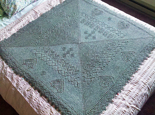 ravelry square shawl february pattern by elizabeth. Black Bedroom Furniture Sets. Home Design Ideas