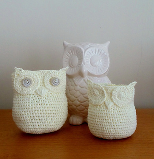 Free Crochet Patterns Owl Basket : Ravelry: Owl Basket (Crochet) pattern by Deja Jetmir