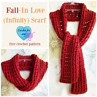 Ravelry: Fall-In Love (Infinity) Scarf pattern by Erangi ...